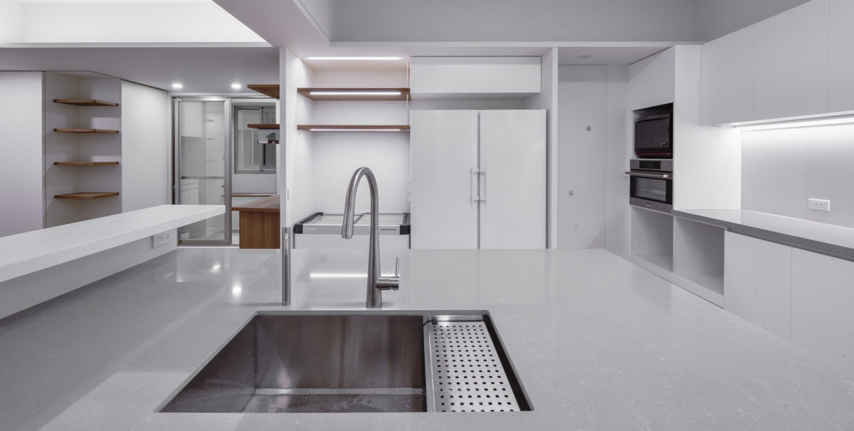廚房,電器區,乾貨收納間,隱藏門