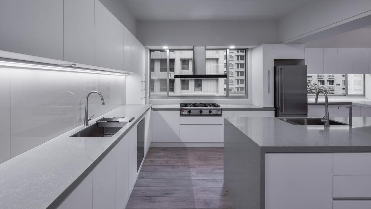 廚房,雙水槽,做菜好視野