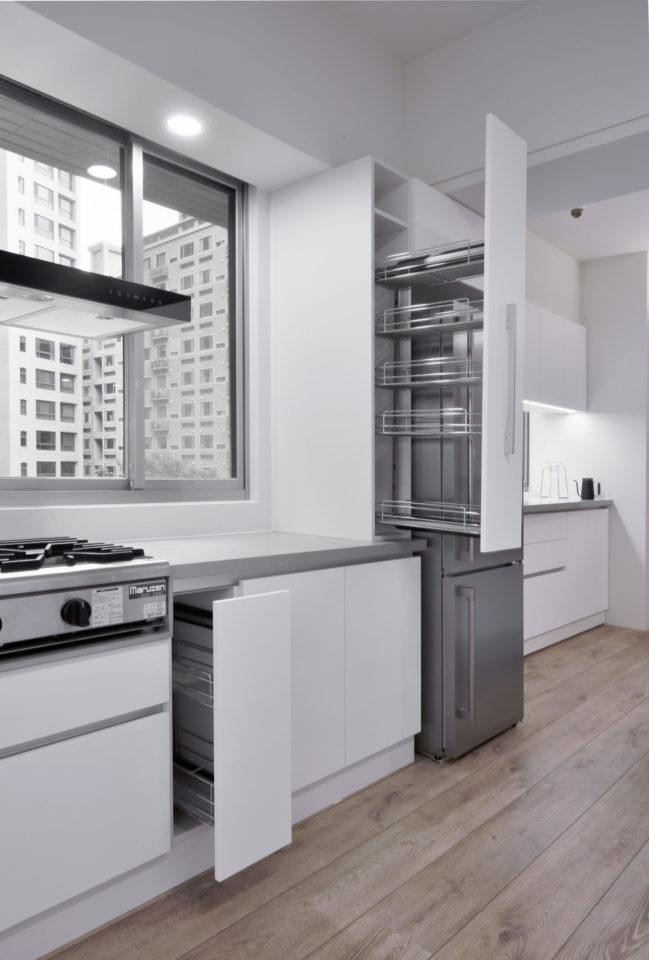 廚房,做菜習慣,調味罐收納,檯面淨空