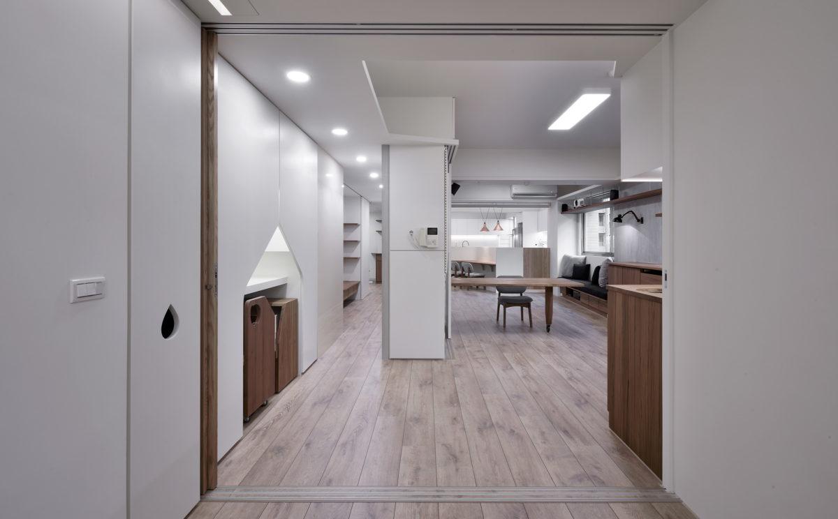 臥室區看客餐廳、開闊、格局