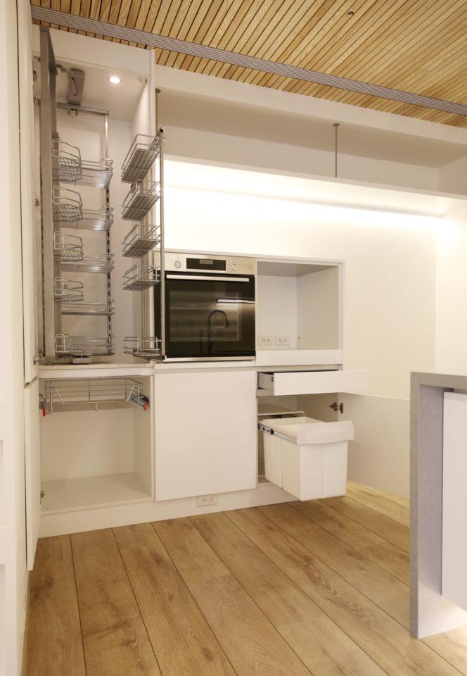 電器收納,廚房分區規劃