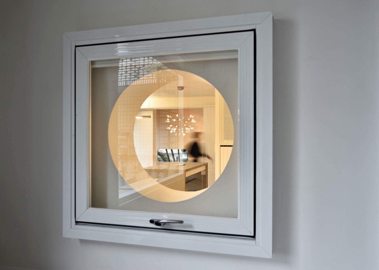 可開的洞窗遠眺室內