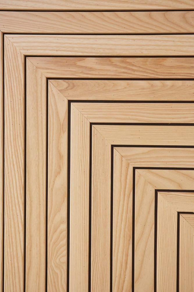 格柵天花,對紋選料,栓木實木線板