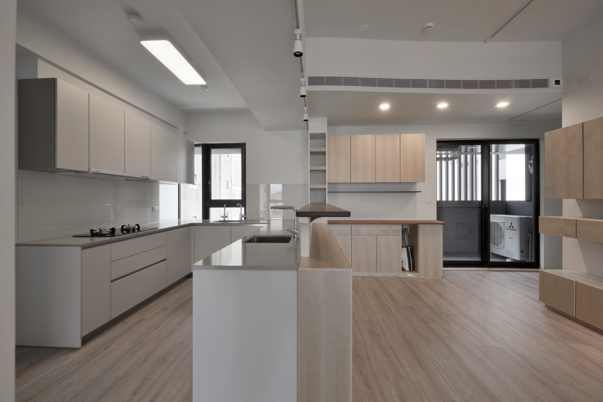 廚房與餐廳 寬敞的大廚房,真適合全家人一起做菜