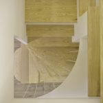 都市田園居,10.美麗的栓木實木樓梯踏板