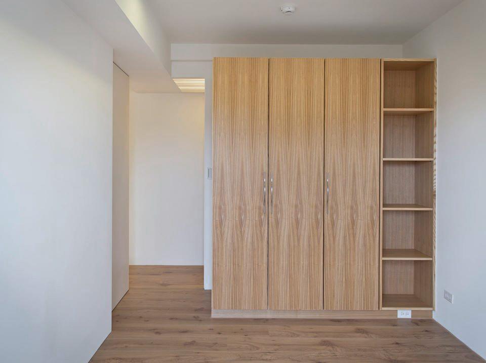 緊鄰和室的是小孩房,因為預算的考量,這間房間僅做少數必要的傢俱,其他則建議之後再添購活動家具來補足