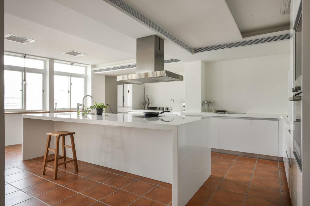 情境空間:除了提供活動時的餐點準備工作之外,也可以進行廚藝教學